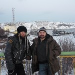 me and Sergey in Polarny 1 150x150 Mens Conference in the Far North