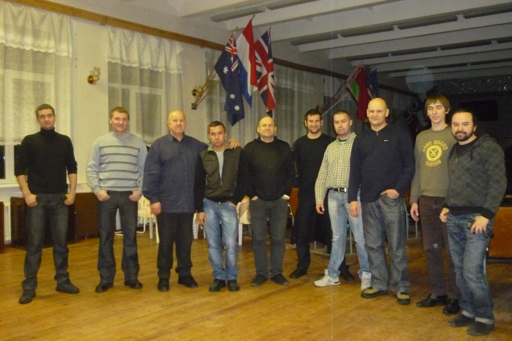 mens group in Olenegorsk Ministry in the Far North