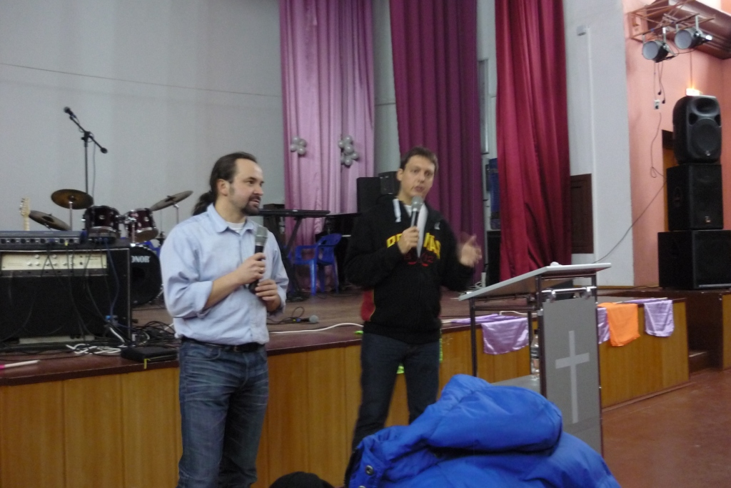 seminar in Murmansk with martin Reen from Sweden Ministry in the Far North